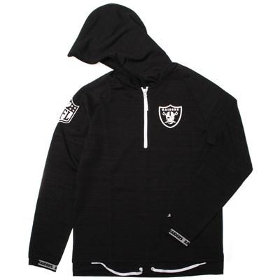 NFL Engineered Half Zip Hoody - Oakland Raiders