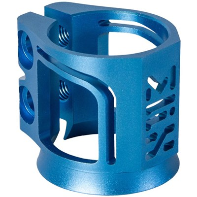 MFX X2 Cobra Scooter Clamp - Anodised Blue
