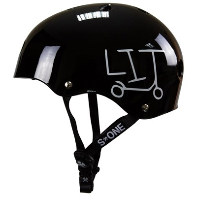 Lifer LIT Helmet - Black Gloss