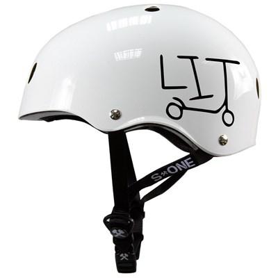 Lifer LIT Helmet - White Gloss