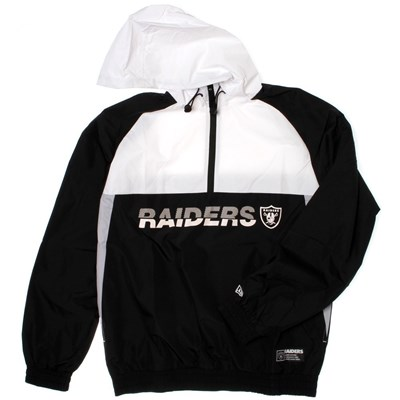 NFL Colour Block Windbreaker - Oakland Raiders