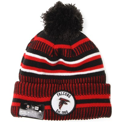 NFL Sideline Bobble Knit 2019 Home Game Beanie - Atlanta Falcons
