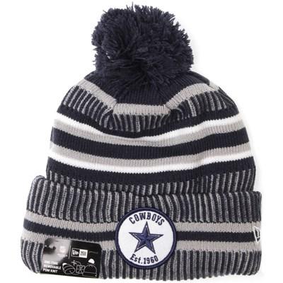 NFL Sideline Bobble Knit 2019 Home Game Beanie - Dallas Cowboys