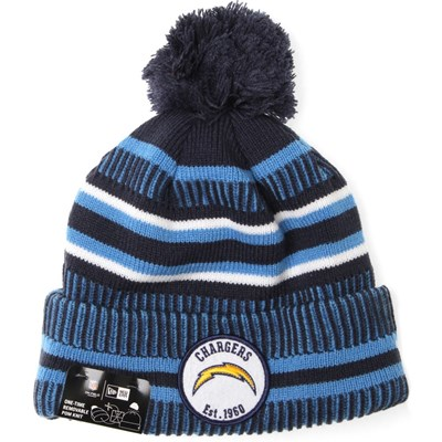 NFL Sideline Bobble Knit 2019 Home Game Beanie - Los Angeles Chargers