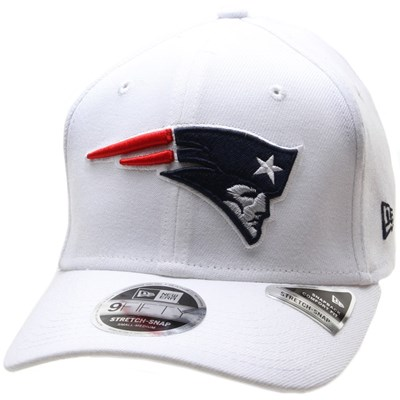 Stretch Snap White 950 Snapback Cap - New England Patriots