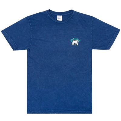Nermland S/S T-Shirt - Blue Mineral Wash