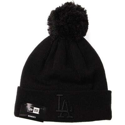 Womens League Essential Bobble Knit Beanie - LA Dodgers
