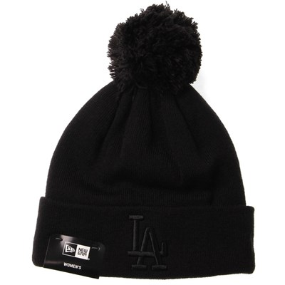 Womens League Essential Bobble Knit Beanie - LA Dodgers