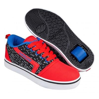 GR8 Pro Prints Red/Black/Blue/Chemistry Kids Heely Shoe