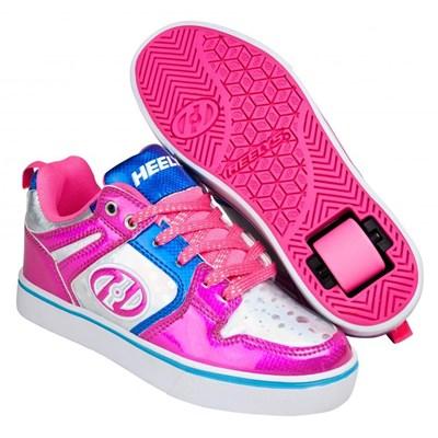 Motion 2.0 Pink/Silver/Aqua Heely Shoe