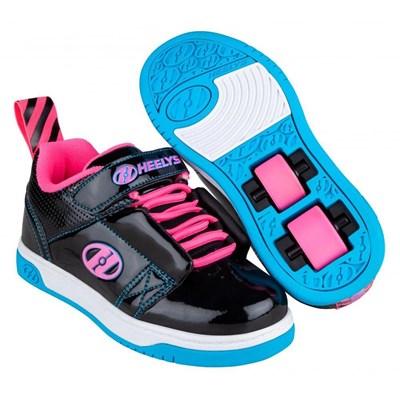 Rift X2 Black/Neon Pink/Cyan Kids Heely X2 Shoe