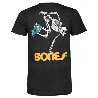 Skateboard Skeleton S/S T-Shirt - Black