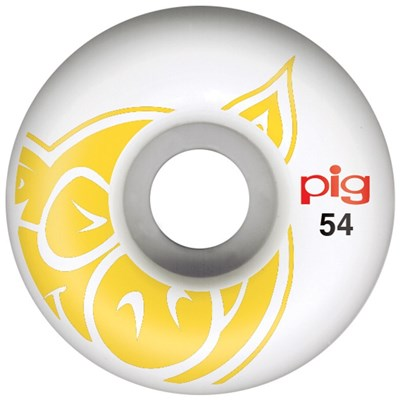 Head 54mm Skateboard Wheels - Yellow