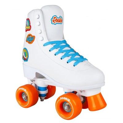 Fever Quad Roller Skates - White/Multi