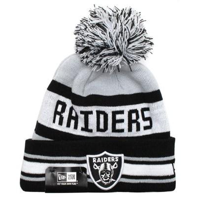 Kids NFL Team Jake Beanie - Oakland Raiders