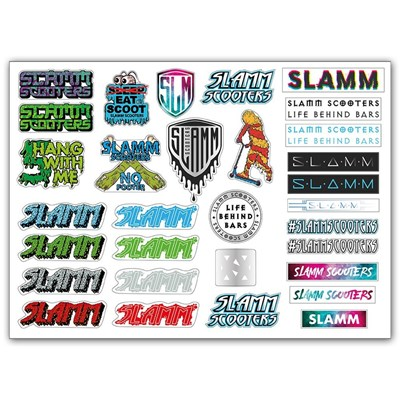 A3 Scooter Sticker sheet