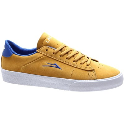 Newport Gold/Royal Suede Shoe