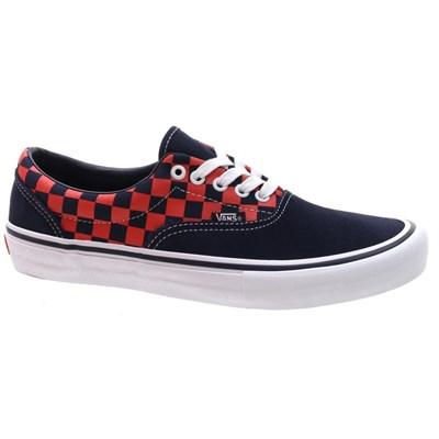 Vans Era Pro (Checkerboard) Navy/Orange Shoe
