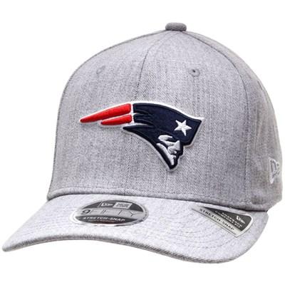 Heather Base 950 Stretch Snapback - New England Patriots