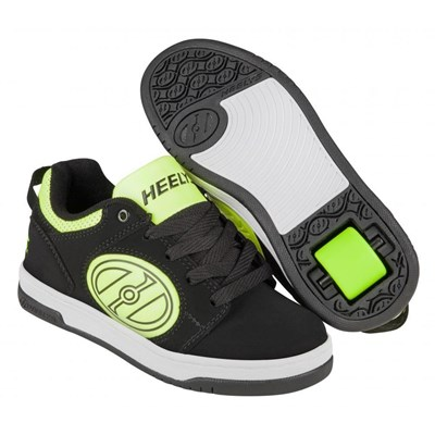 Voyager Black/Bright Yellow/G.I.D. Kids Heely Shoe