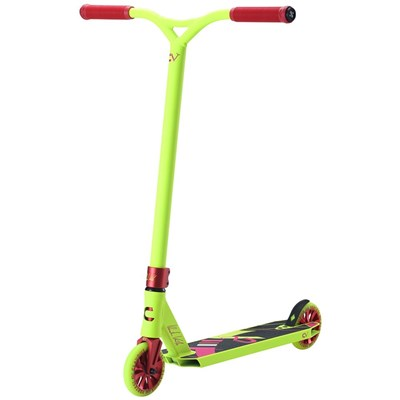 CV Team Signature Scooter Neon Yellow