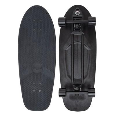 Image of Complete 29inch Plastic Surfskate Skateboard - High-Line Blackout