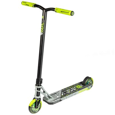 Madd Gear MGX P1 Pro Scooter - Grey/Lime