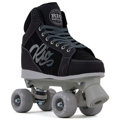 Lumina Quad Roller Skates - Black/Grey