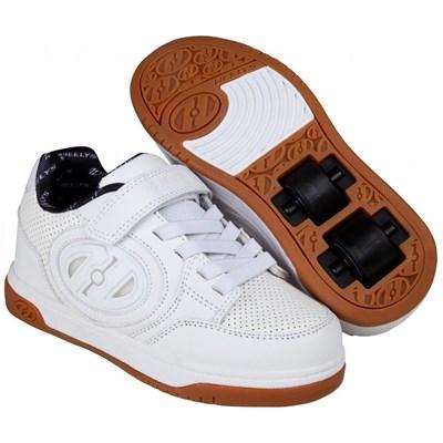 Plus Lighted White/White/Gum Kids Heely X2 Shoe