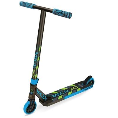 Madd Kick Mini Pro Rascal III Stunt Scooter - Blue/Lime