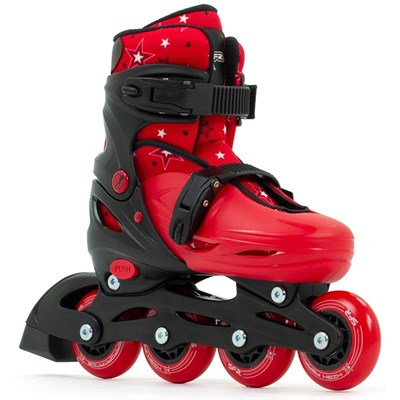 Plasma Black/Red Kids Recreational Inline Skates