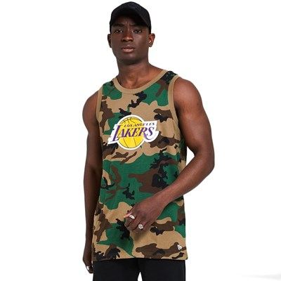 NBA Camo Tank Top - LA Lakers