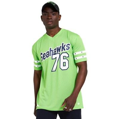 NFL Stripe Sleeve Oversized Tee - Seattle Seahawks