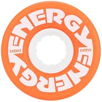 Energy 57mm 78a Roller Skate Wheels - Orange