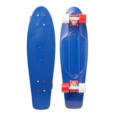 Image of Complete Nickel 27inch Plastic Skateboard - Mind Blower