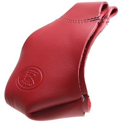 Pro Fit Leather Toe Caps - Red