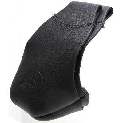 Pro Fit Leather Toe Caps - Black