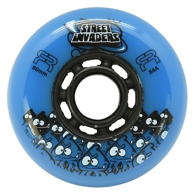 Street Invaders 2 Freestyle Inline Wheel - Blue