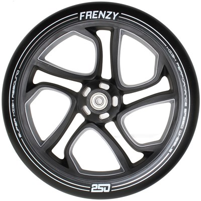 Replacement 250mm Scooter Wheel - Black