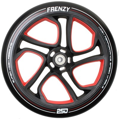 Replacement 250mm Scooter Wheel - Red