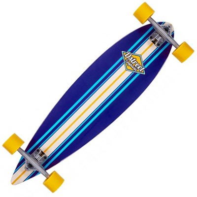 Ocean Complete Pintail Longboard - Blue