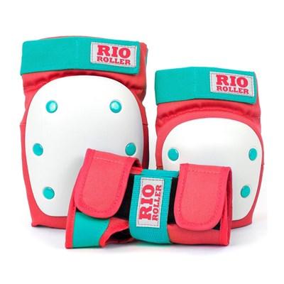 RIO600 Ramp Triple Pad Set - Red/Mint