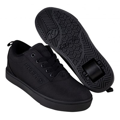 Pro 20 Triple Black Kids Heely Shoe