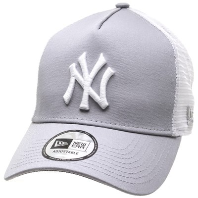 Clean Trucker Cap - New York Yankees Grey