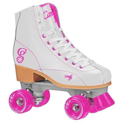 Sabina Quad Roller Skates - White/Pink