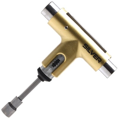 Skateboards|Skating Accessories Skate Tool - Metallic Gold