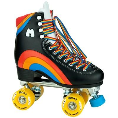 Pre Order Rainbow Rider Quad Roller Skates - Black Due 25-11-20