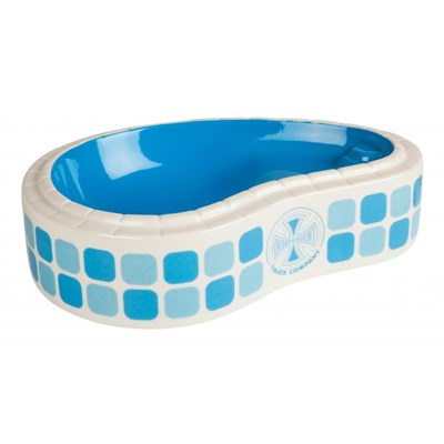 Tile Cross Pool Dish (Ashtray)