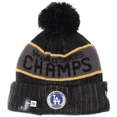LA Dodgers World Series 2020 Champions Knit Beanie