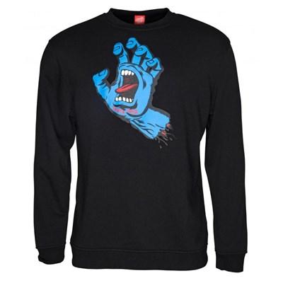 Screaming Hand Crew - Black